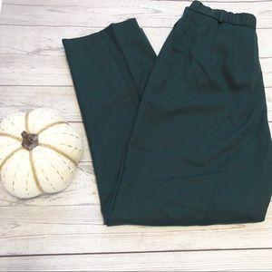 VTG Pendleton hunter green wool pants